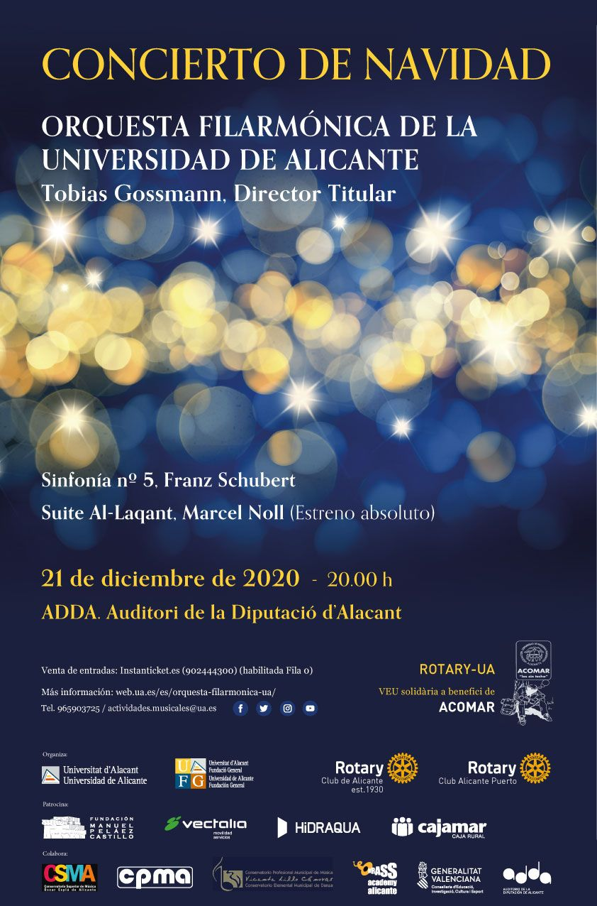 Orquesta Filarmónica Universidad Alicante (cancelled)